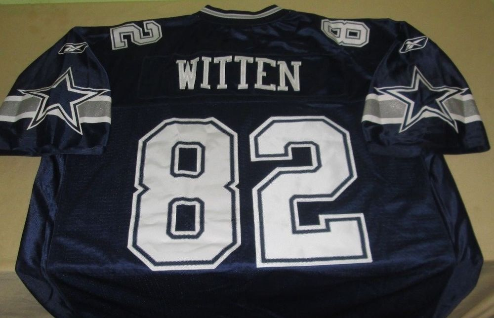 caad6752 Details about Jason Witten Dallas Cowboys #82 Throwback Jersey NFL ...