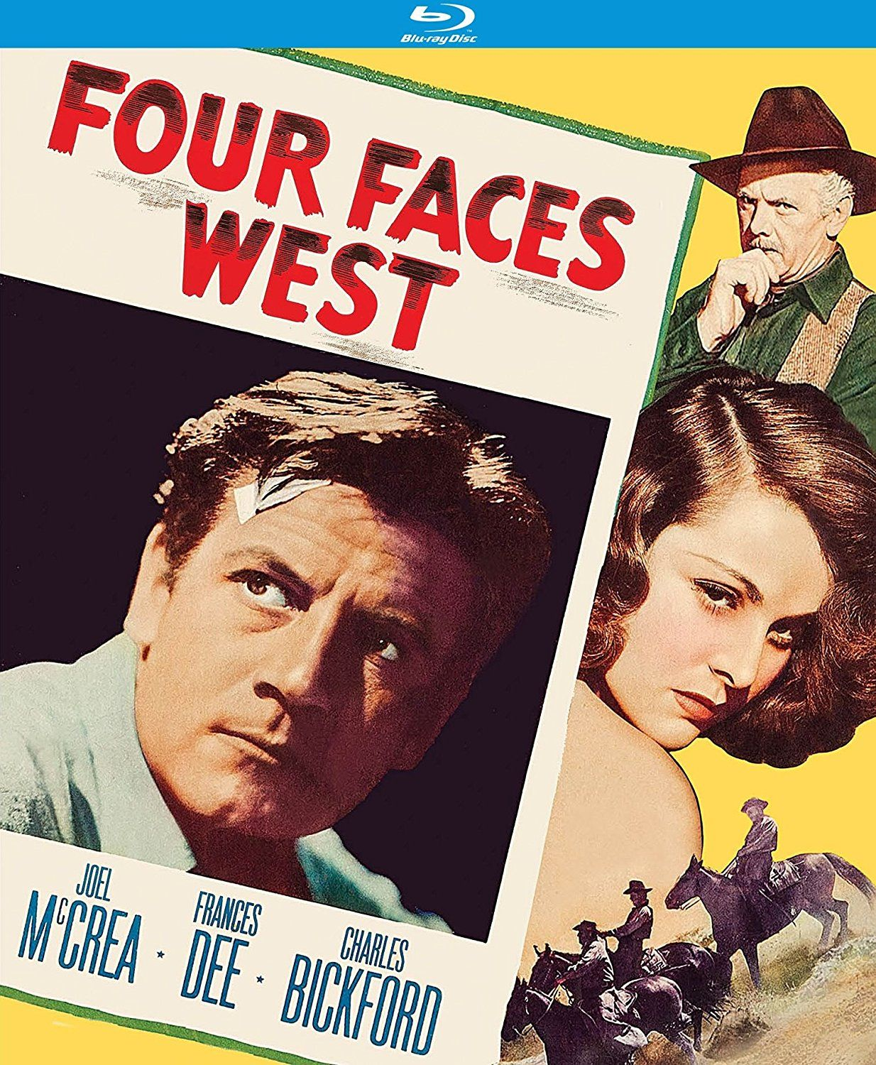 Four Faces West 1948 Blu Ray Classic Movies Blu Ray Face