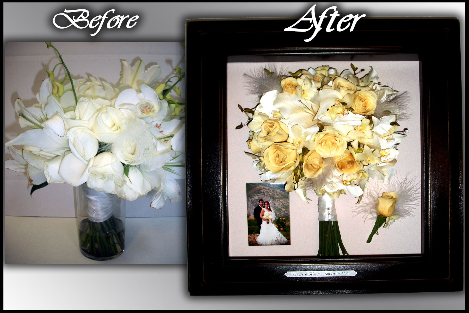 Preserving Wedding Bouquet Inexpensive Wedding Invitations