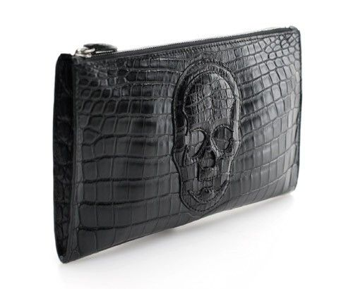 Lucien Pellat-Finet crocodile clutch
