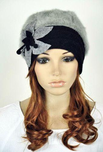 ef4b62b8137188 Winter Warm Rabbit Fur Wool Women's Dress Hat Beanie Cap Cute Flower 5  Colors | eBay