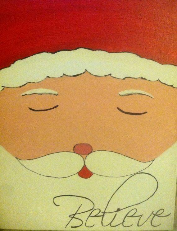 Cute canvas paint idea for wall decor. Canvas painting. Wall art ...