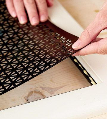Decorative Metal Inserts For Cabinet Doors And How To Remove The