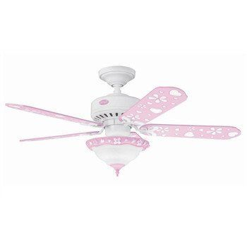 Attractive Design Of Kids Ceiling Fans: Childrens Pink Ceiling Fan With  Light ~ General Ideas Inspiration