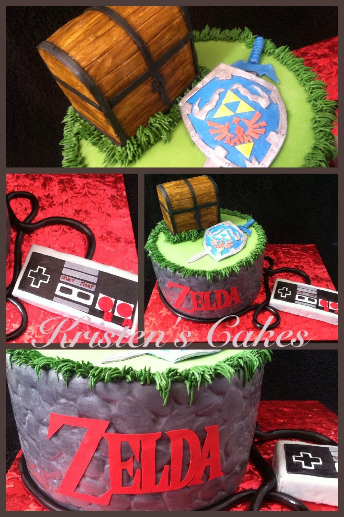 Phenomenal Zelda Cake Extravaganza With Images Zelda Cake Zelda Funny Birthday Cards Online Elaedamsfinfo