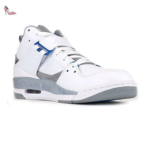 air jordan flight 45 blanc
