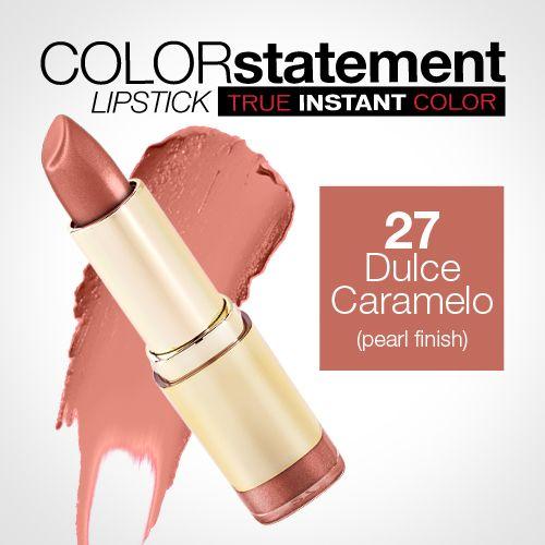 Milani Color Statement Lipstick 27 Dulce Caramelo (Pearl)