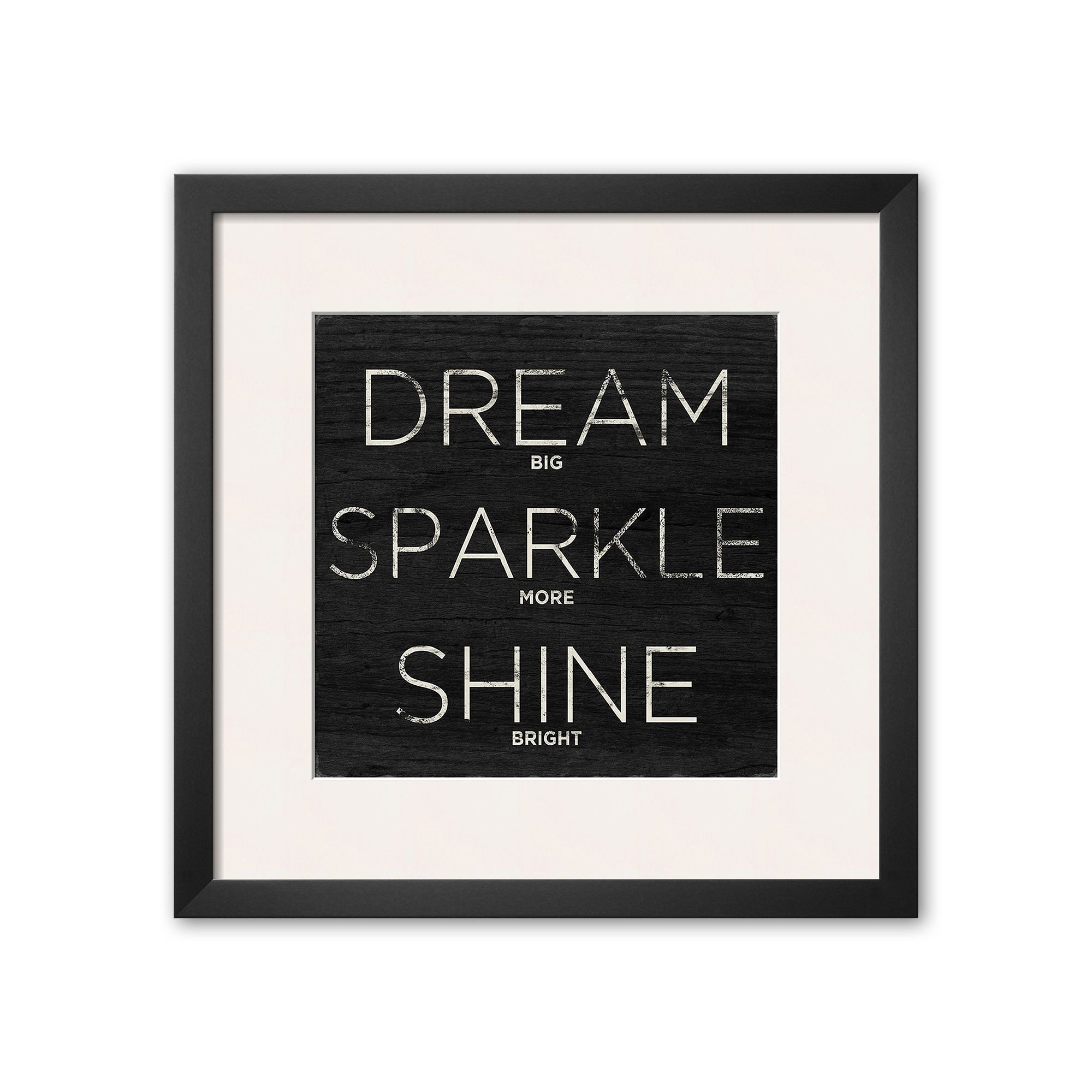 Art dream sparkle shine framed art print multicolor products