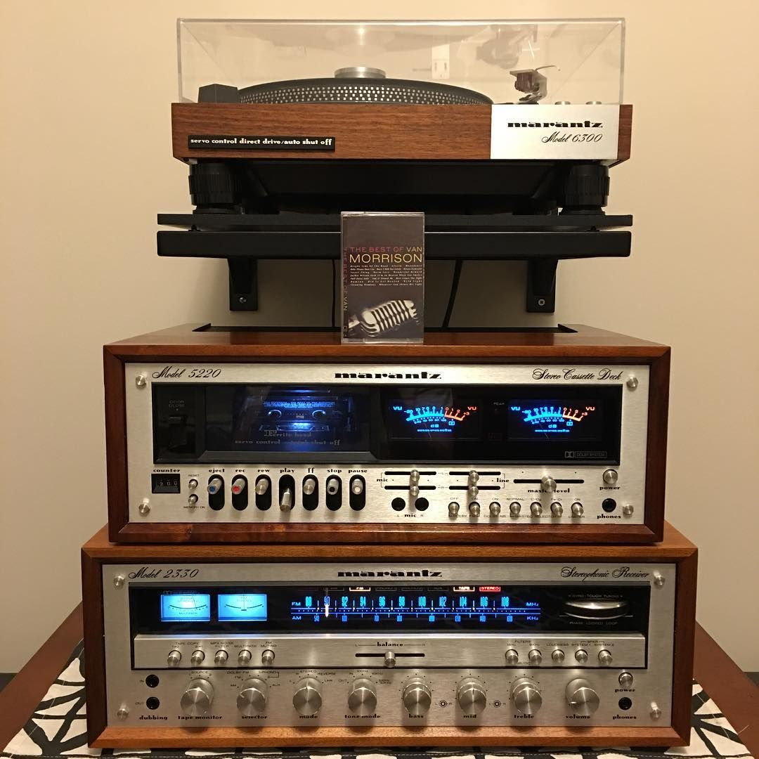 Finally finished my #Marantz stack  What better than some