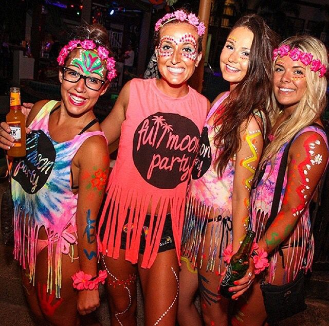 what to wear to jungle party thailand