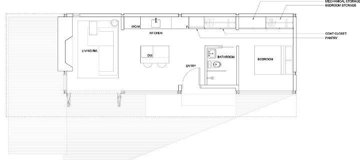 planos de casas pequenas modulares