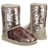 UGG Australia Classic Short Sparkles Holiday Shimmer Womens Boot HOLIDAY  *** Learn more by visiting the image link.