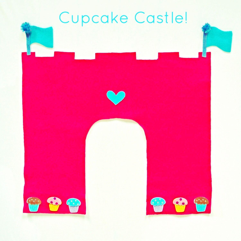 Cupcake Castle DIY from www.Crafterina.com