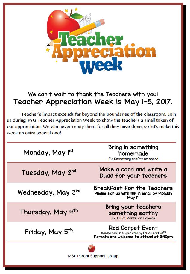 Montessori School Of Excellence Mckinney Txupcoming Preschool Teacher Appreciation Teacher Appreciation Doors Teacher Appreciation Week