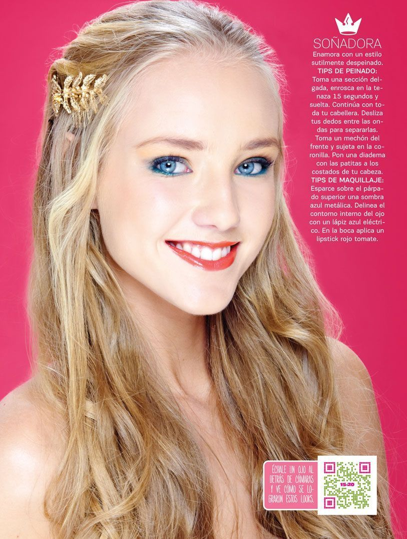 Soñadora! #prom #graduación #makeup #maquillaje #hairstyle