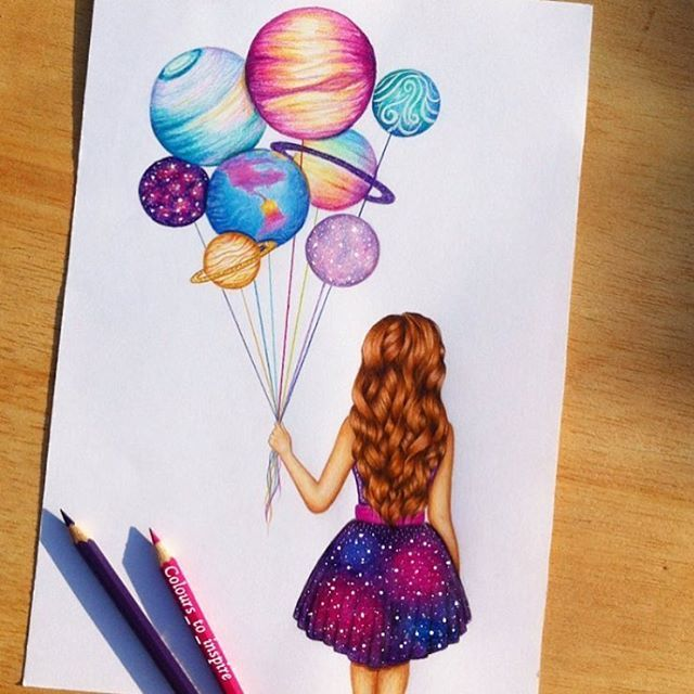 """""""Use your imagination"""" by @colours_to_inspire Follow us for more art @arts.hub  #artshub"""