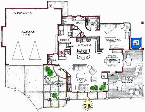 Modern Green Modern House Design With Solar Modern House Floor Plans Unique House Plans Mansion Floor Plan