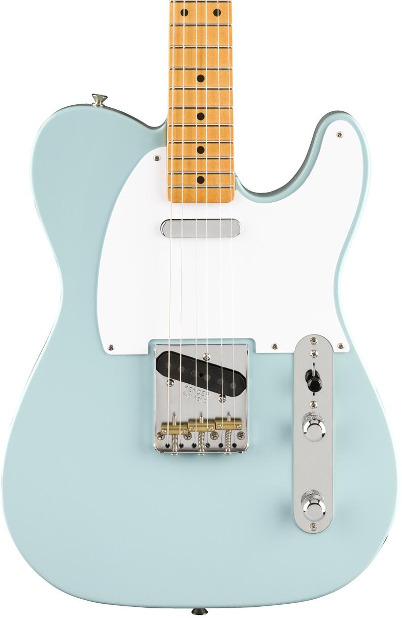 Fender Vintera '50s Tele in Sonic Blue - Andertons Music Co.