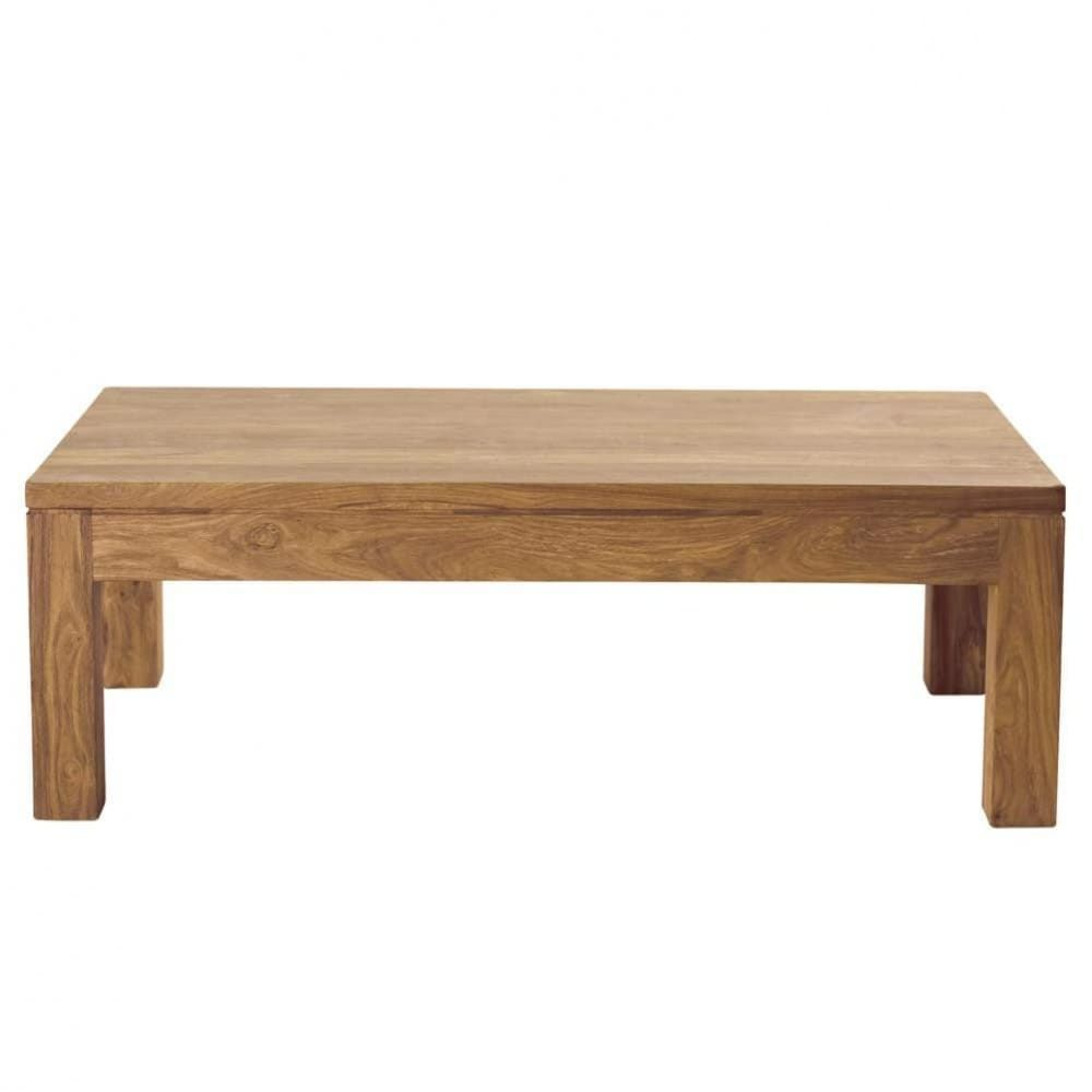 Table Basse En Sheesham Massif Stockholm Table Basse Table Basse Bois Table Basse Design Pas Cher