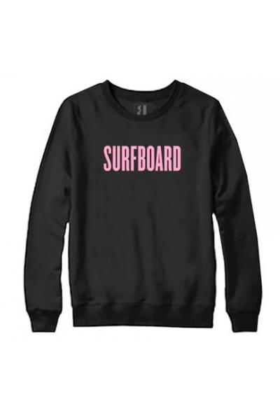 SURFBOARD CREW NECK SWEATSHIRT