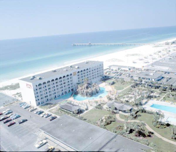 Florida Memory Bird S Eye View Of The Ramada Inn Fort Walton Beach Awesome Hotel