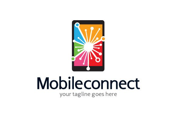 Mobile Connect/Share/Develop Logo by gunaonedesi