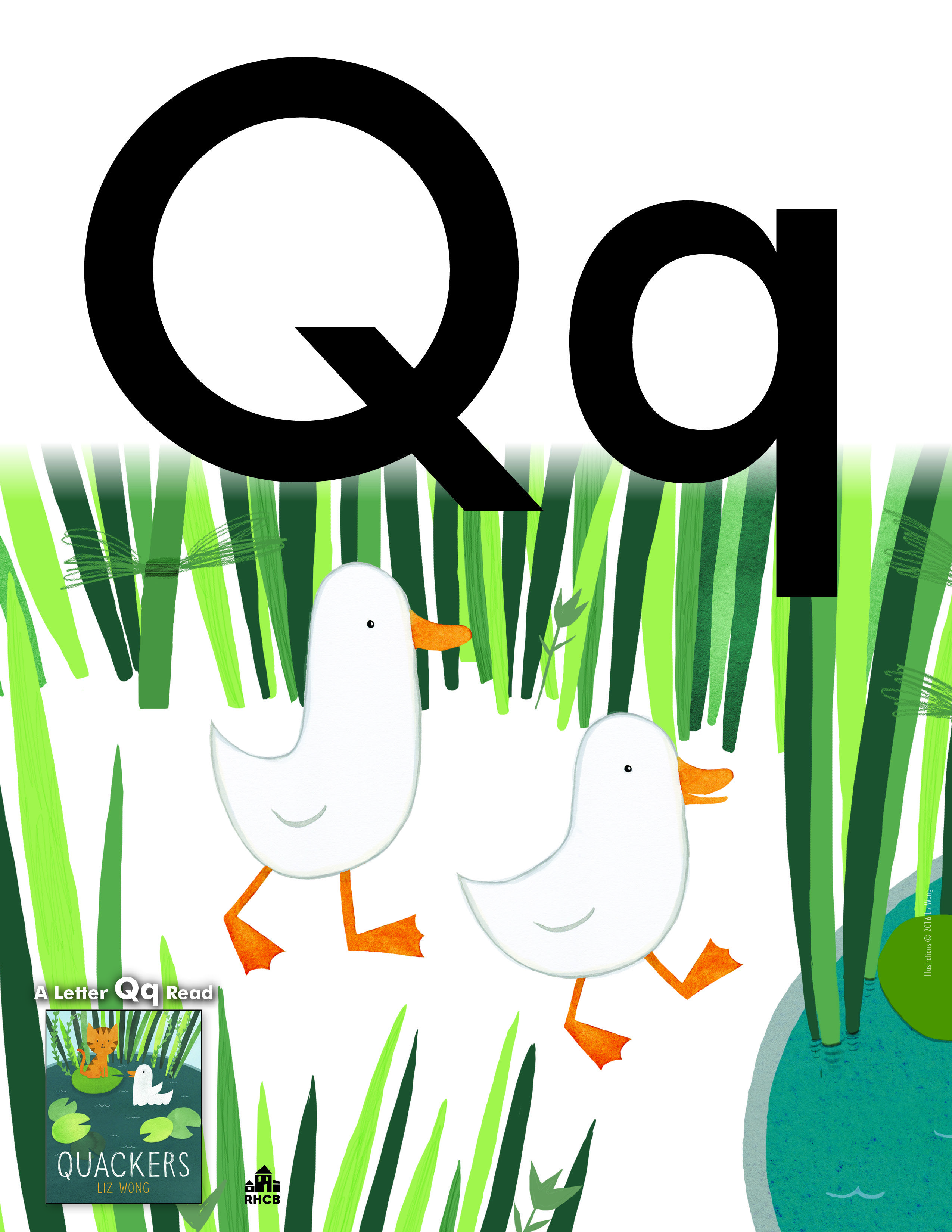 Letter Qq Card print out and use to start a bulletin