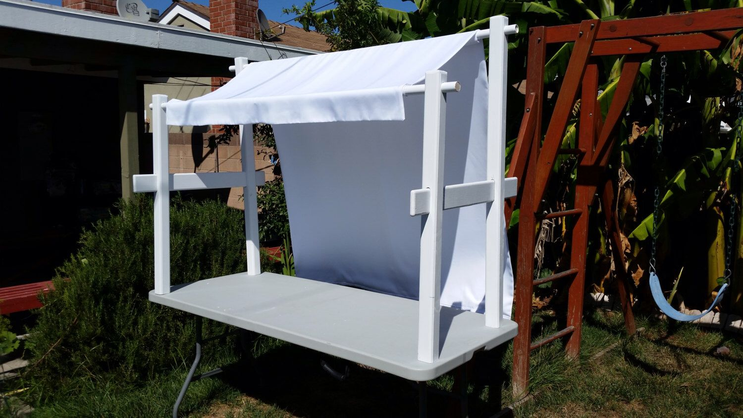 Table Top Canopy With Custom Awning Etsy In 2020 Custom Awnings Diy Canopy Canopy