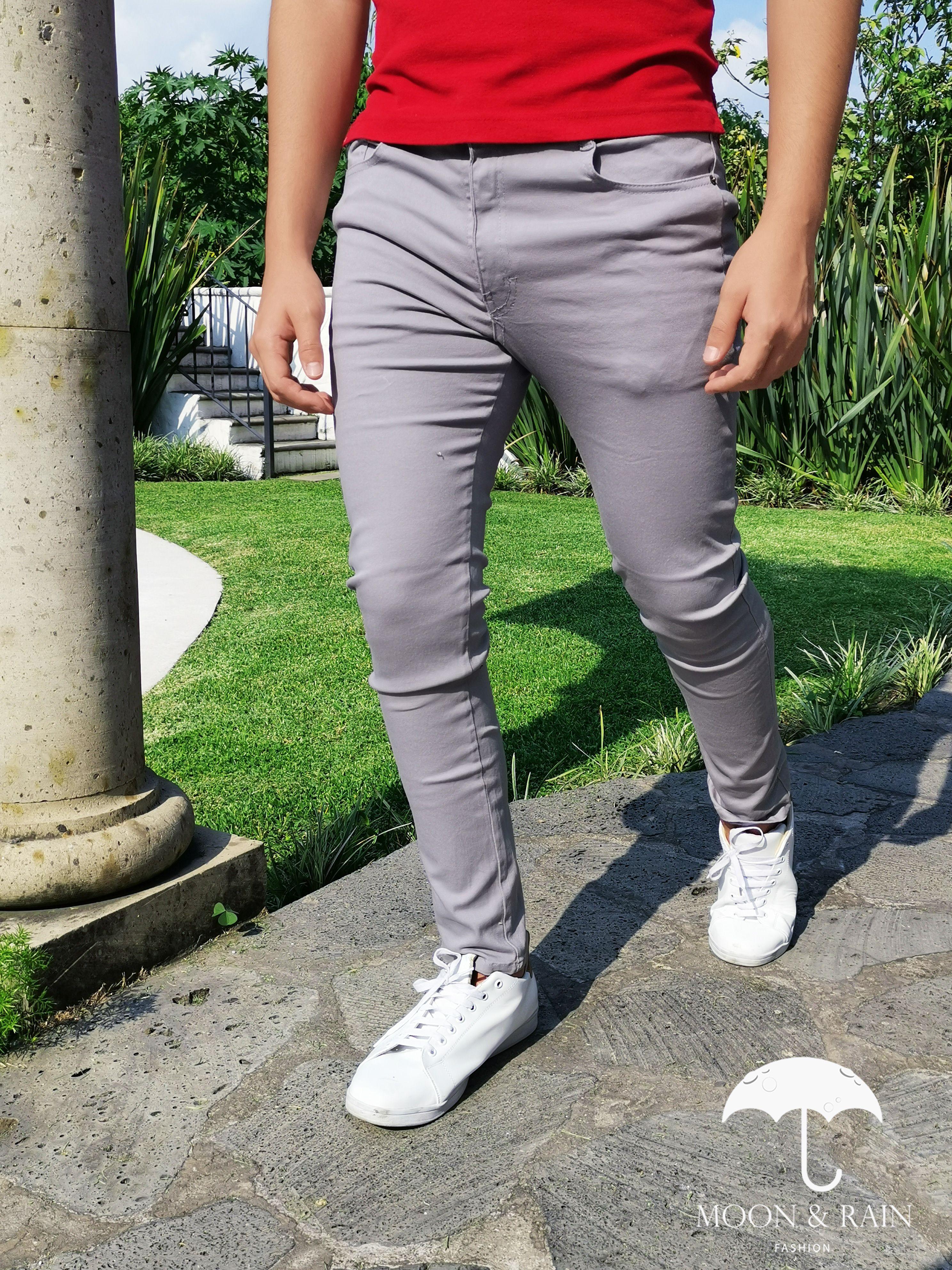 Venta Pantalon Gris Para Hombre En Stock
