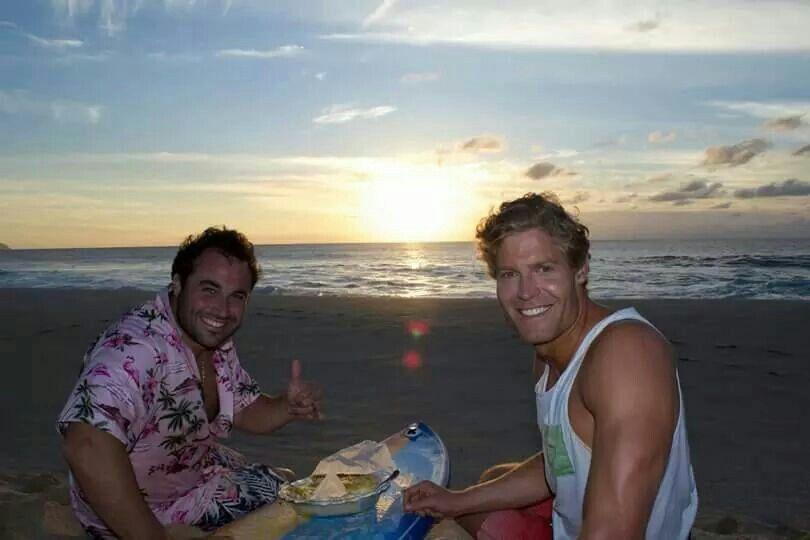 Chris en Miguel