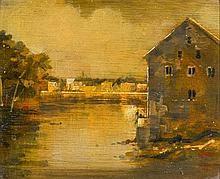 Martin Mooney (b.1960) RAMELTON FISH HOUSE, 1995