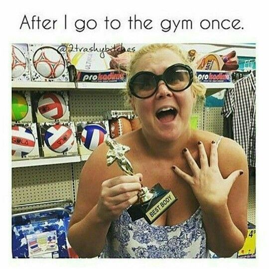 After I go to the gym once - Diet and Fitness Humor, Gym Memes, Food, Healthy, Fit, LOL, Haha, Funny, LMAO, Hilarious, Comedy, Fat, Weight Loss, Exercise, Workout, Training, Lift, Squats, Yoga, Muscles, Abs, Nutrition, Nike, Adidas, Fitbit, Running, Jogging, Cardio