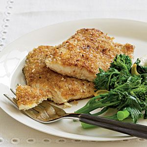 Pecan-Crusted Trout   MyRecipes.com #myplate #protein