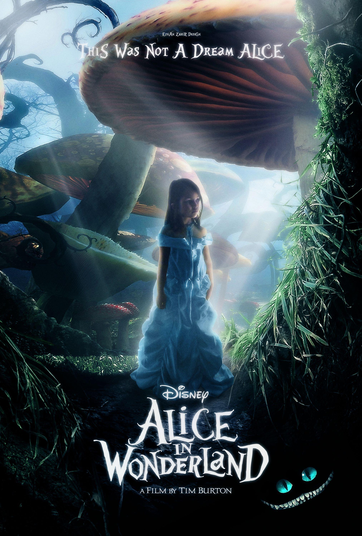 Alice In Wonderland Movie Posters Alice In Wonderland Poster Con