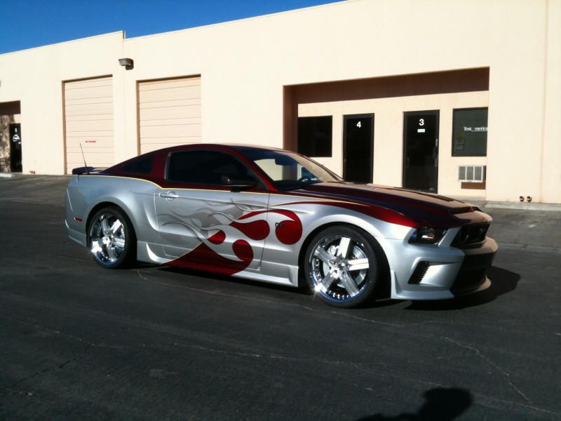 Ford Mustang Forum >> Not A Fan Of Flames Paint Job But Ford Mustang Forum