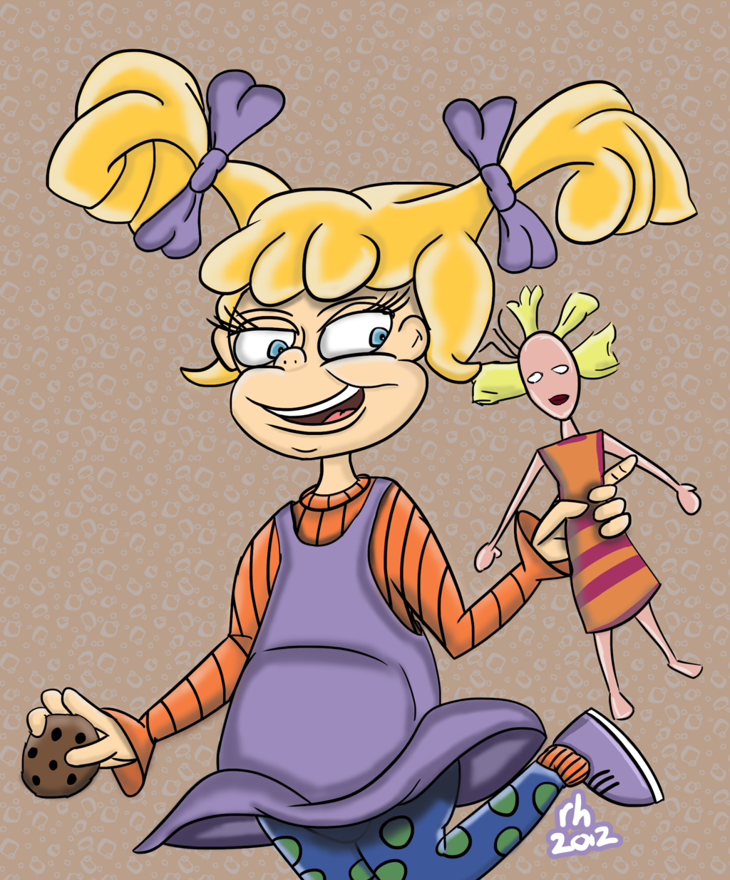Fanart Feature - Angelica Pickles - Rugrats