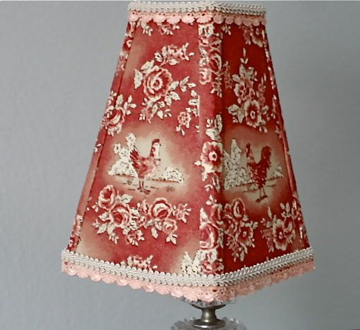 French country rooster lampshade farmhouse kitchen style lamp french country rooster lampshade farmhouse kitchen style lamp shade country french decor rooster aloadofball Choice Image