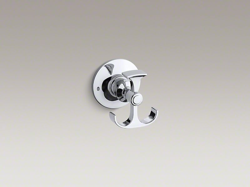 Archer® The timeless appeal of Archer accessories works beautifully with an array of bathroom styles. This anchor-shaped robe hook embodies Archer's classical design lines, allowing you to create a unified bathroom down to the smallest detail.