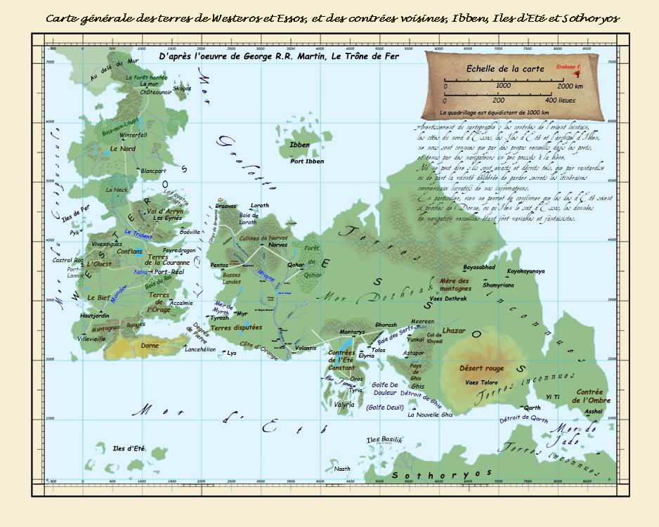carte trone de fer Wiki] Lumière sur … les rébellions Feunoyr | Carte, Trône de fer
