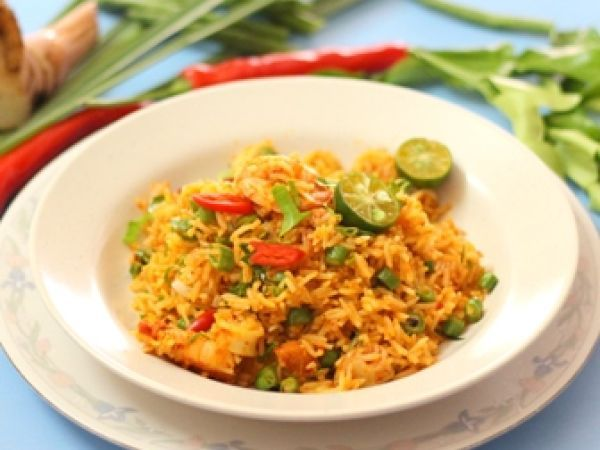 Nasi Goreng Tom Yam Tomyam Fried Rice Resep Resep Nasi