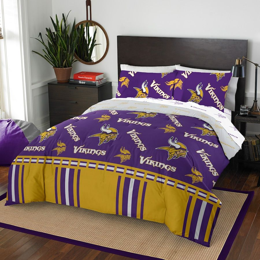 Minnesota Vikings The Northwest Company 5Piece Queen Bed