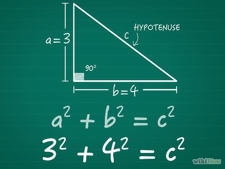 How To Find The Length Of The Hypotenuse Studying Math Math Tutorials Learning Math