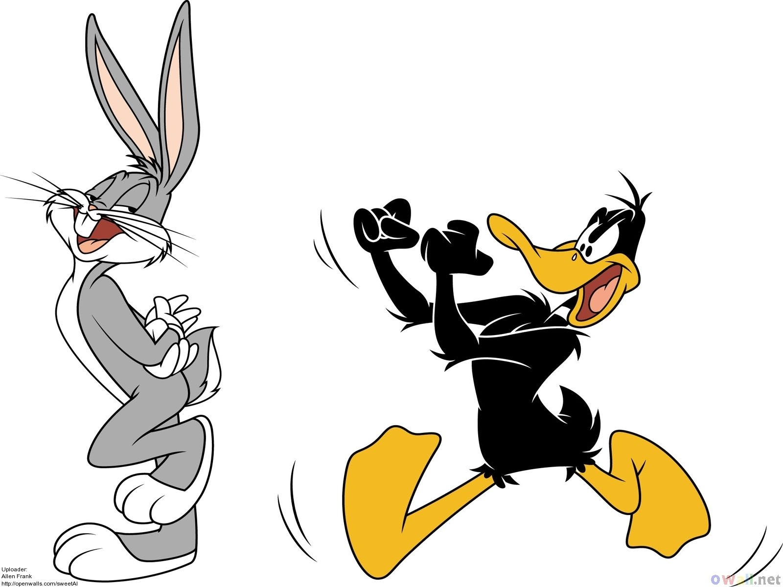 Bugs Bunny et Daffy Duck sexe gay