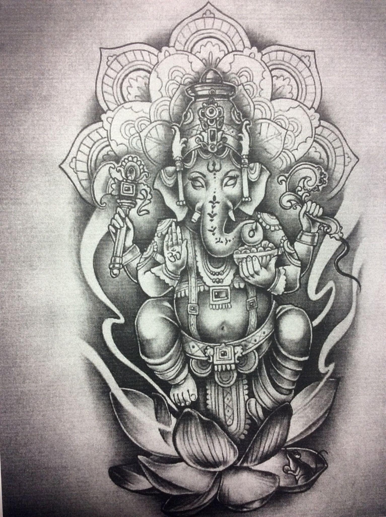 Pin By Annel Roldan On Dani S World Ganesha Tattoo Elephant Tattoos Ganesh Tattoo