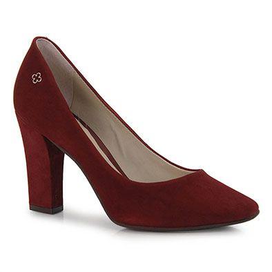 2de40e9cef Sapato Scarpin Feminino Capodarte - Vinho