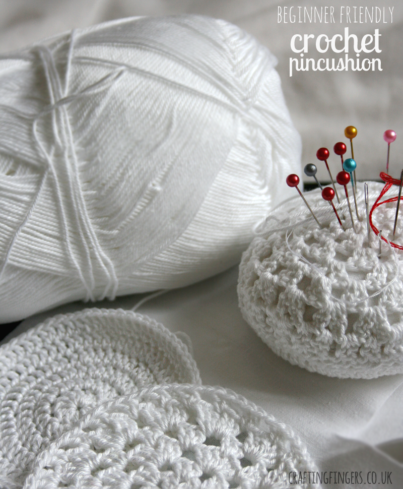 easy~peasy crochet pincushion: #free #crochet #pattern | Crochet ...