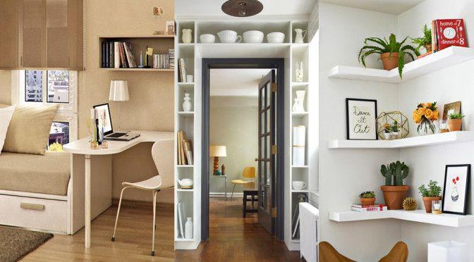 10 secretos para decorar espacios pequeños u2026 Decoración del hogar