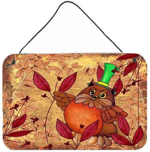 Hootie Fall Owl Wall or Door Hanging Prints PJC1092DS812