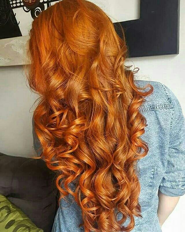 Hairstyle, color and length.   Hair styles, Long red hair, Long hair styles