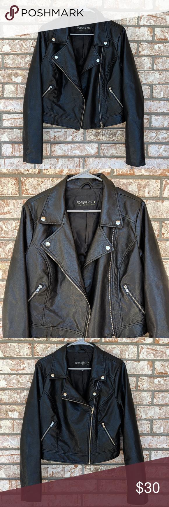 Forever21 F21 Plus Black Faux Leather Moto Jacket Faux Leather Moto Jacket Black Faux Leather Moto Jacket Leather Moto Jacket [ 1740 x 580 Pixel ]